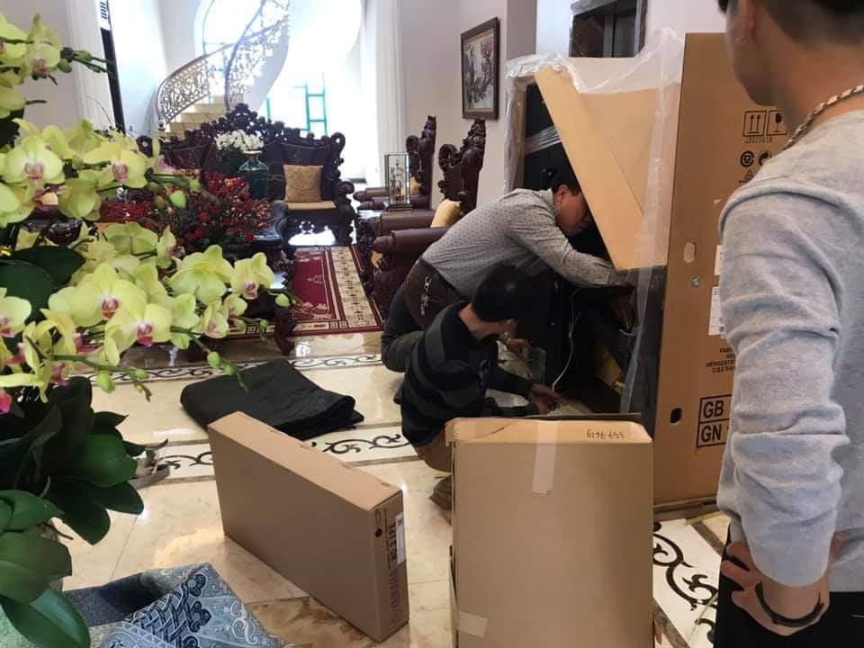 Vận chuyển nhà tại Hà Nội